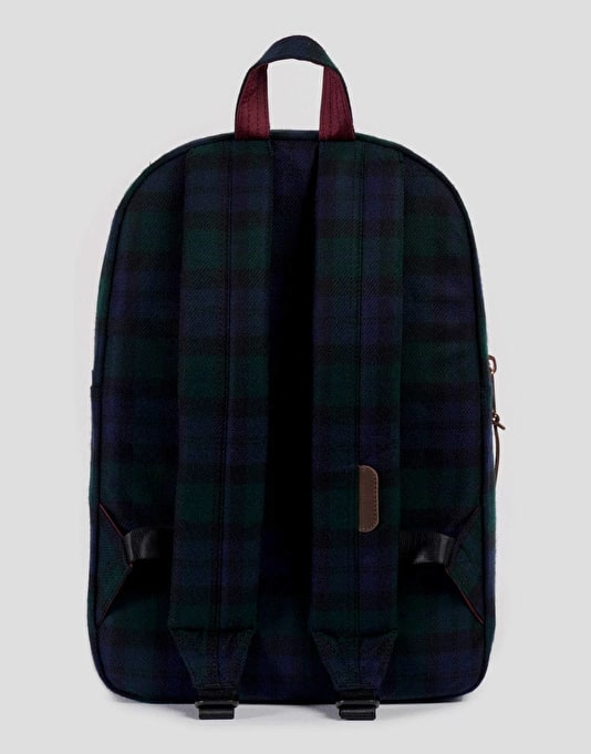Herschel Supply Co. Settlement Mid-Volume Backpack - Black Watch Plaid