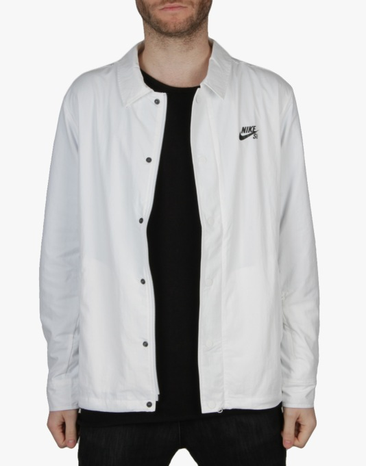 Nike SB Coach Jacket - White/Black