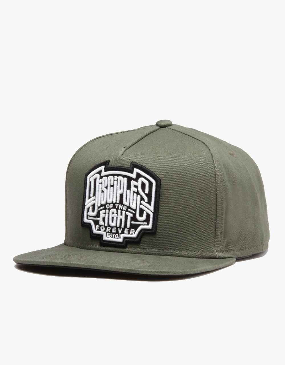 Rebel8 Disciples Of The Eight Snapback Cap - Olive  6a250a704c03