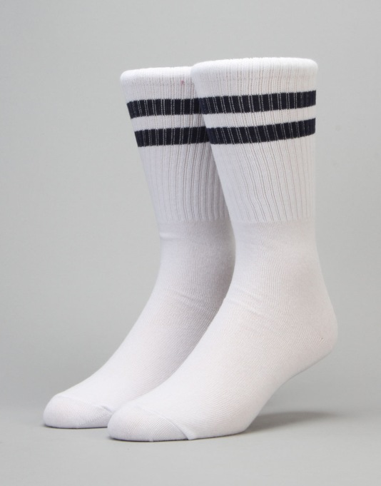 Carhartt College Socks - White/Blue