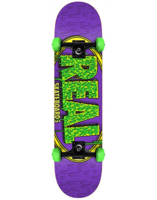 Real Dripstick Complete Skateboard - 8""