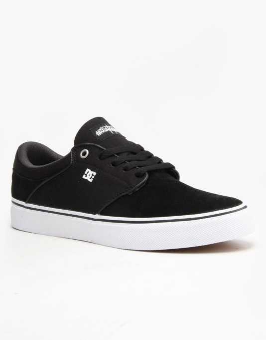 DC Mikey Taylor Vulc Skate Shoes - Black/White/Grey