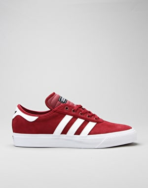Adidas Adi-Ease Premiere Skate Shoes - Collegiate Burgundy/White/Black