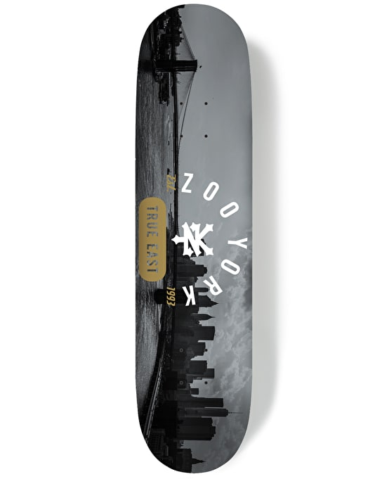 Zoo York Urban Landscape Series #2 East River Skateboard Deck - 8.25""