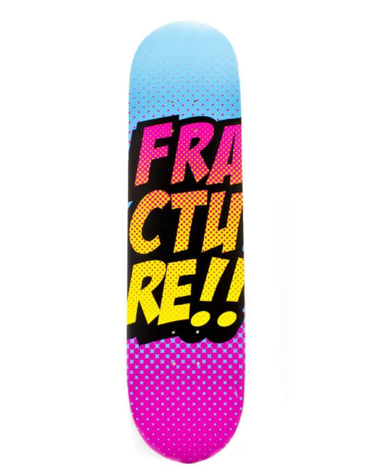 Fracture Comic VT Team Deck - 8""