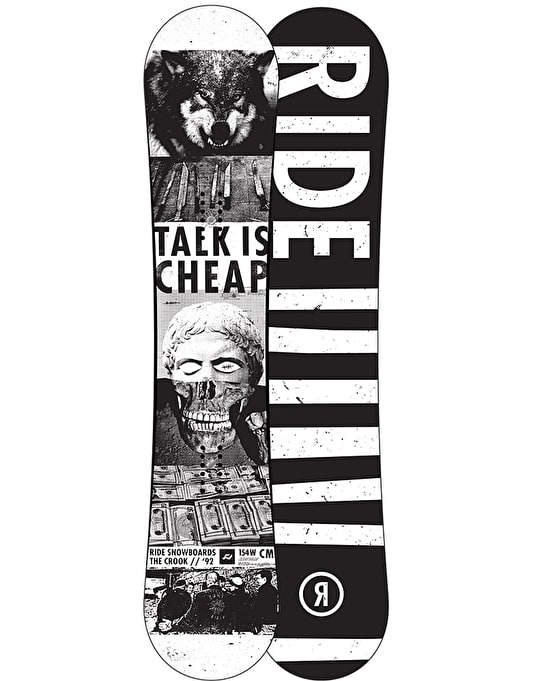 Ride Crook 2016 Snowboard - 154W