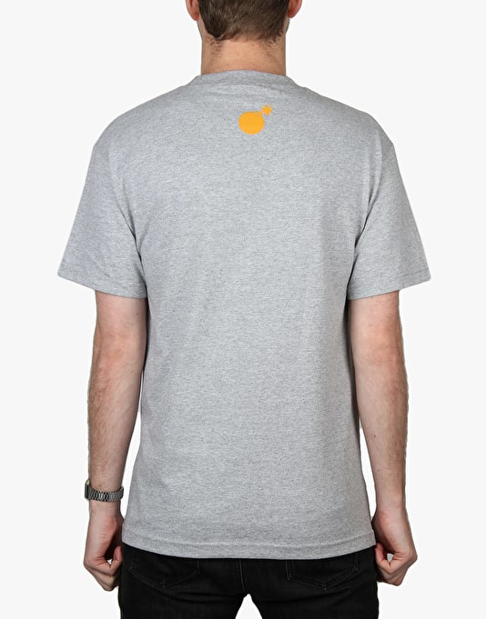 The Hundreds Microscope T-Shirt - Athletic Heather