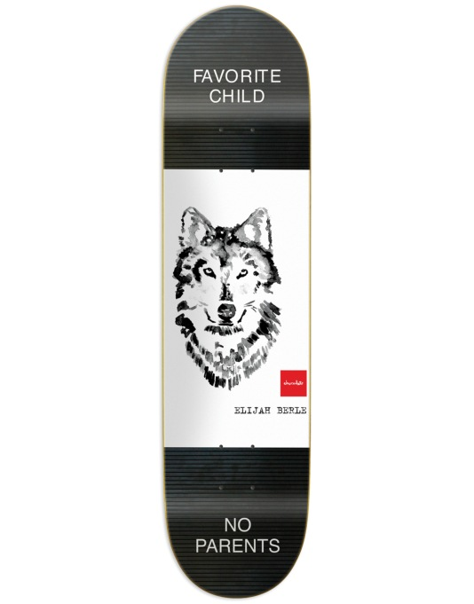 Chocolate Berle Solitary Animals Pro Deck - 8.25""