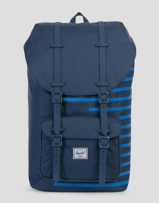 Herschel Supply Co. Little America Backpack - Navy/Cobalt Stripe