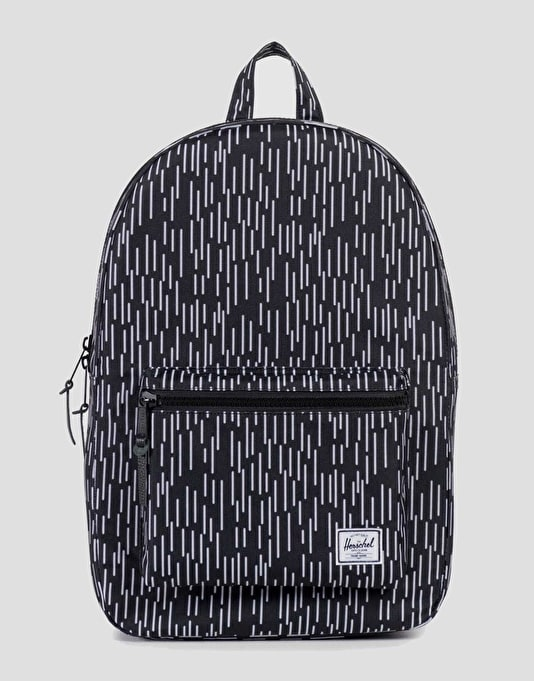 Herschel Supply Co. Settlement Backpack - Black/White Rain Camo