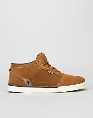Etnies Jefferson Mid Skate Shoes - Brown