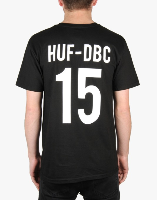 HUF x Thrasher Team T-Shirt - Black