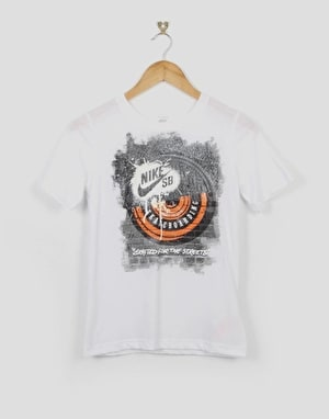 Nike SB Manhole Boys T-Shirt - White
