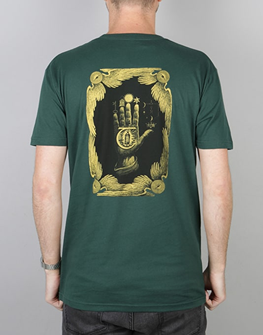 Theories Hand Of Theories T-Shirt - Forest Green