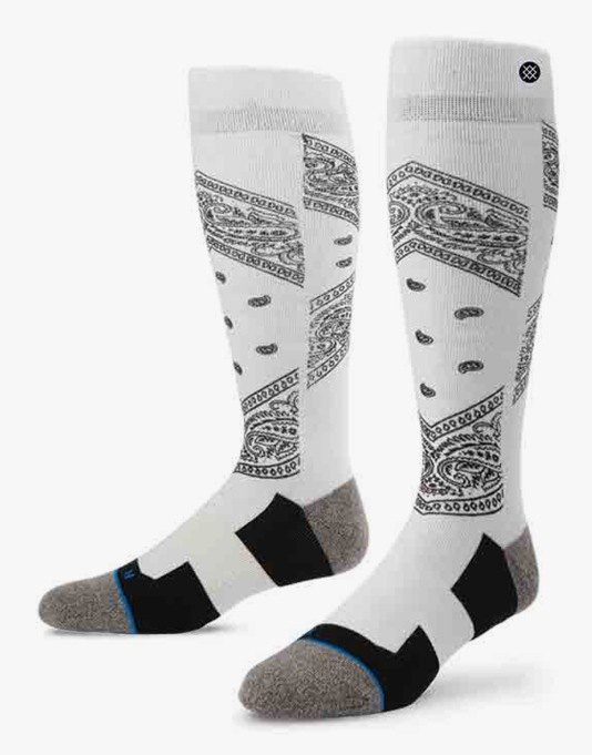 Stance Roots 2016 Snowboard Socks - White