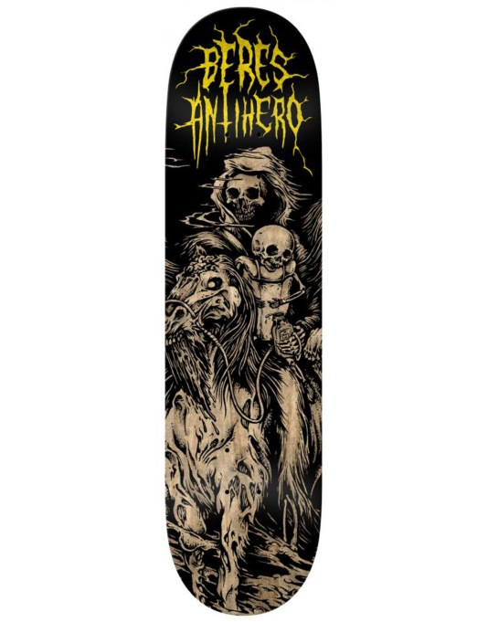 Anti Hero Beres 4 Horseman Pro Deck - 8.25""