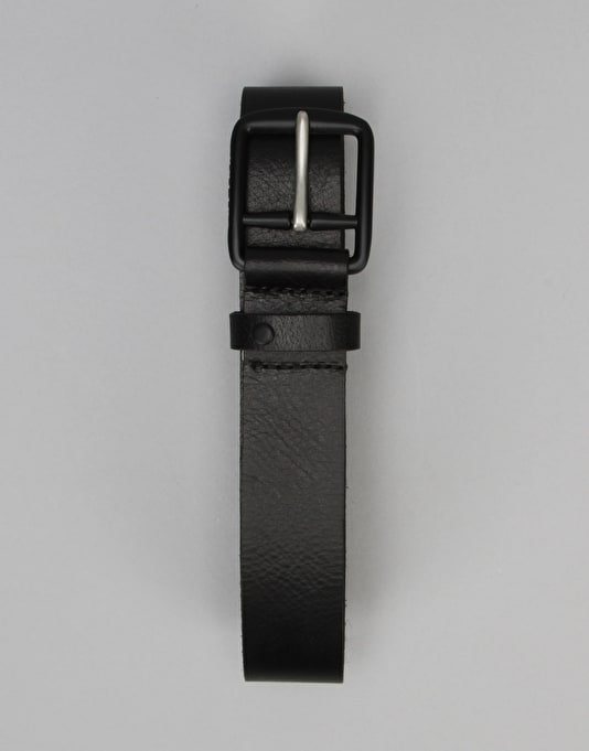 Volcom Thrift Leather Belt - Black