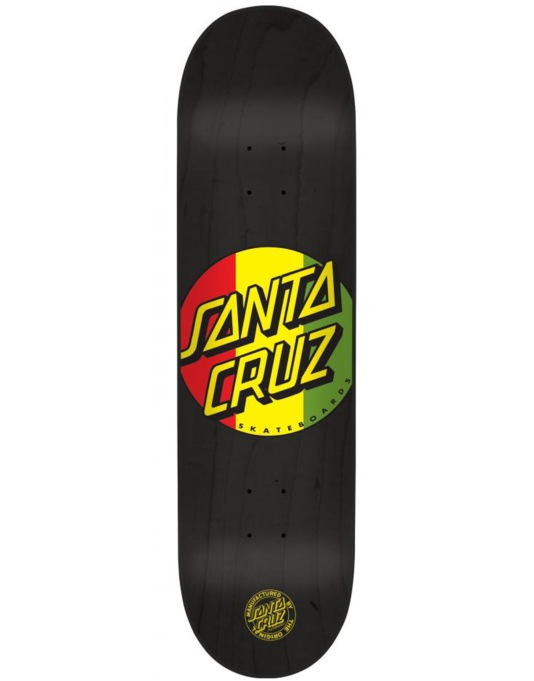 Santa Cruz Rasta Dot Team Deck - 8.375""