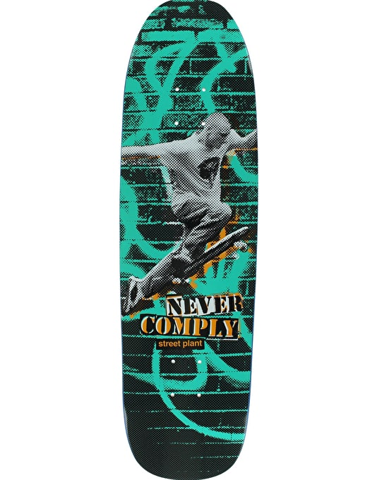 Street Plant Never Comply Team Deck - 8.5""