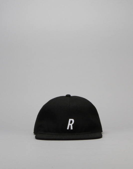Route One R Unstructured Cap - Black