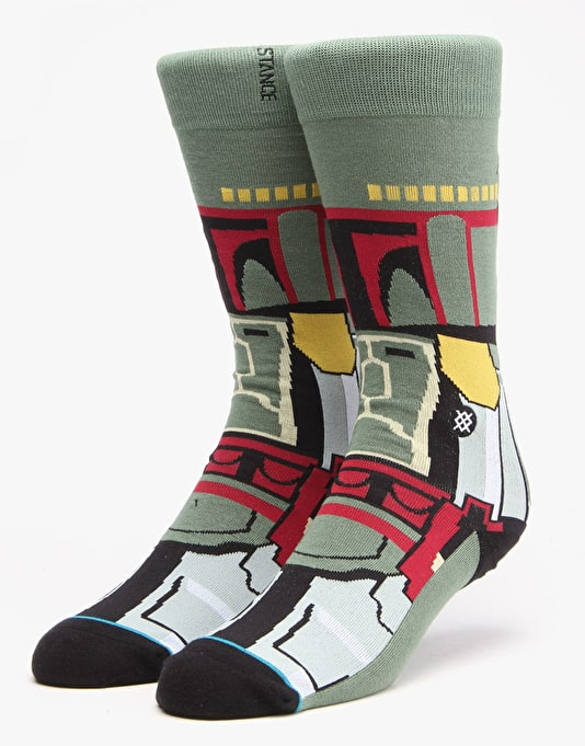 Stance x Star Wars Boba Fett Socks - Green
