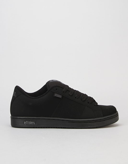 Etnies Kingpin Skate Shoes - Black/Black
