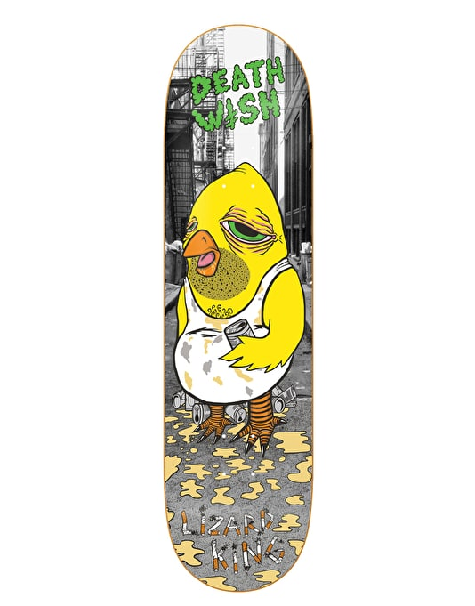 Deathwish Lizard King Milk Man Pro Deck - 8.125""