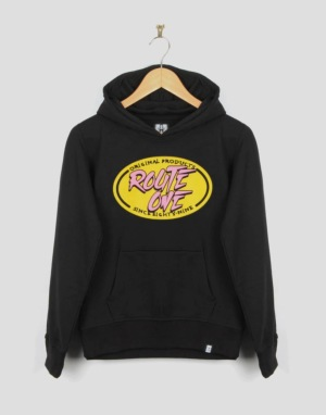 Route One Radical Boys Pullover Hoodie - Black