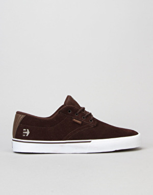 Etnies Jameson Vulc Skate Shoes - Dark Brown