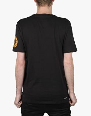 Nike SB Spring Training T-Shirt - Black/Gold Leaf