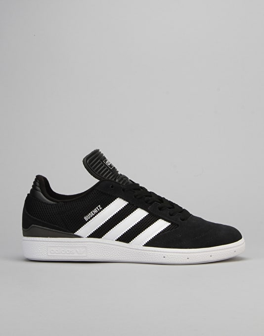 Adidas Busenitz Pro Skate Shoes - Core Black/FTWR White/Silver Met.