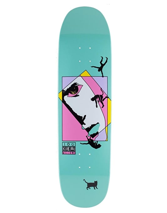 Welcome Miller Faces on Catblood Pro Deck - 8.5""