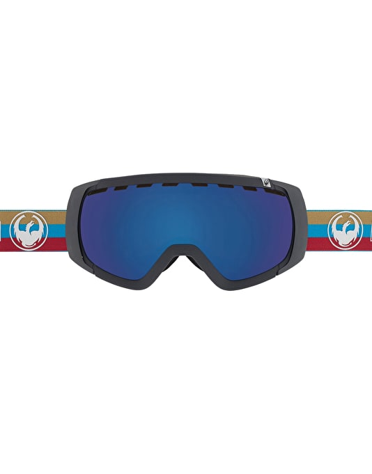 Dragon Rogue 2016 Snowboard Goggles - Layer/Dark Smoke Blue