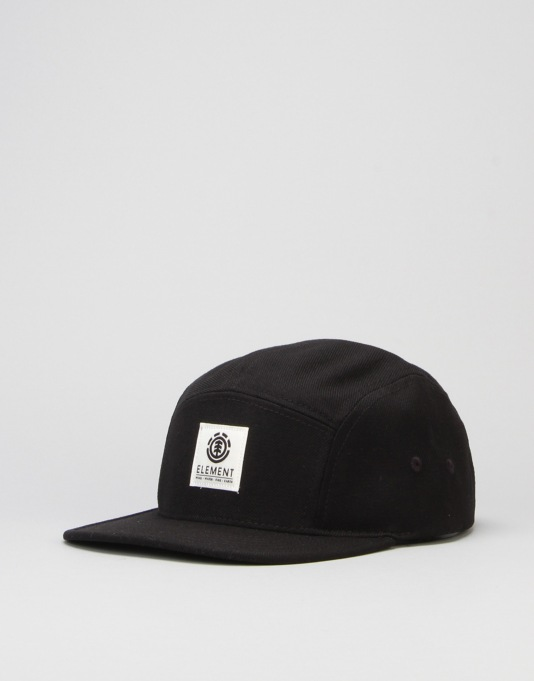 Element Reign 5 Panel Cap - Flint Black