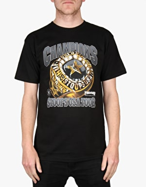 HUF x Thrasher World Champs T-Shirt - Black