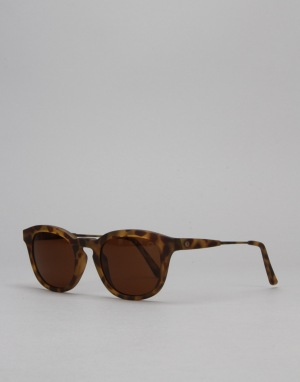 Electric LA Txoko Sunglasses - Matte Spotted Tortoise/Medium Bronze
