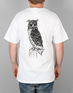 Welcome Black Beak T-Shirt - White/Black