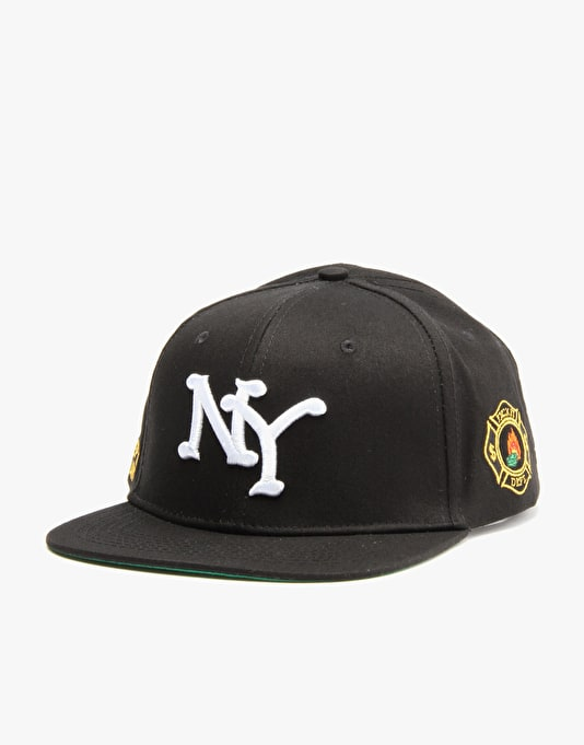 10Deep Burn Unit Snapback Cap - Black
