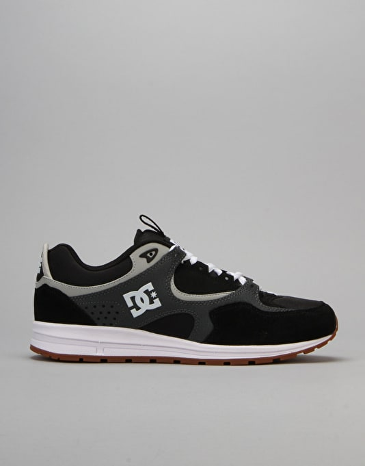 DC Kalis Lite Skate Shoes - Black/Grey/Grey