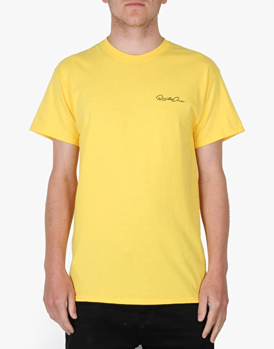 Route One Plank T-Shirt - Daisy