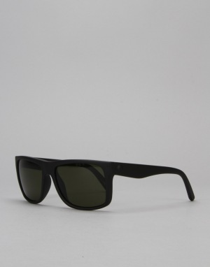 Electric Swingarm Sunglasses - Matte Black/Medium Grey