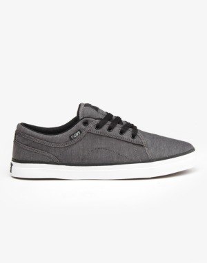 DVS Aversa Skate Shoes - Grey Chambray
