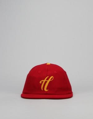 The Hundreds x New Era Meaning Strapback Cap - Burgundy