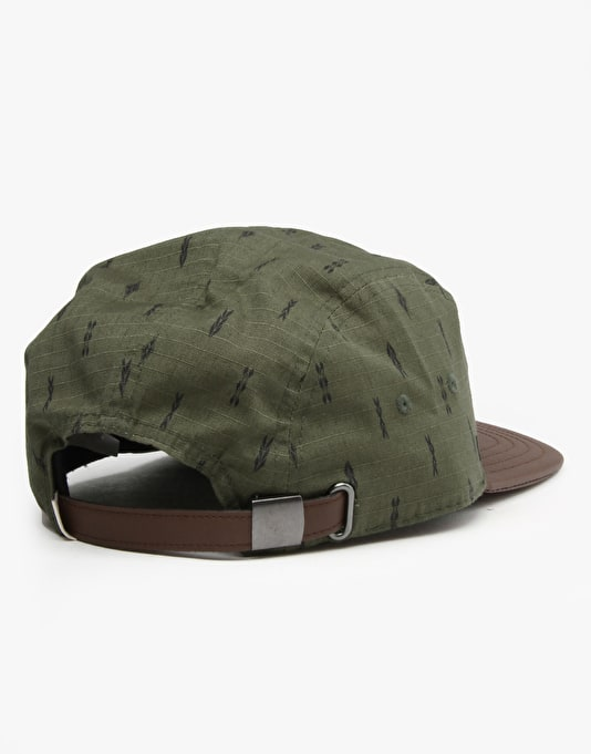 Vans Verdes 5 Panel Cap - Forest Night
