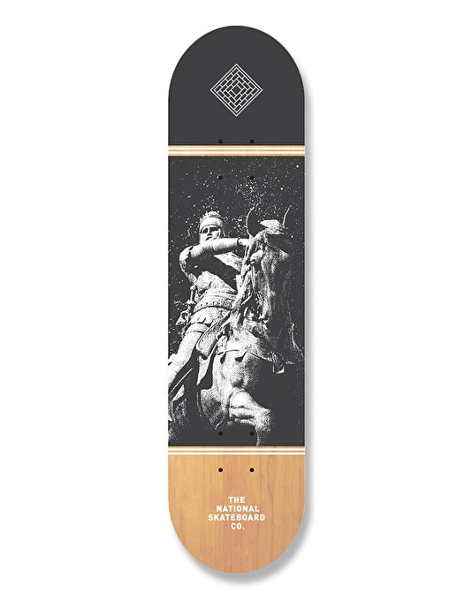 The National Skateboard Co. The Black Prince Team Deck - 8""