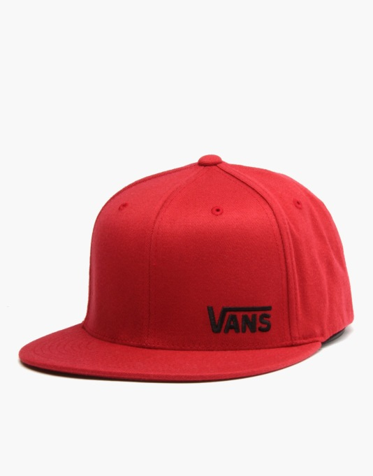 Vans Splitz Flexfit Cap - Crimson