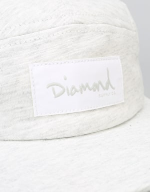 Diamond Supply Co. Heavy Slub 5 Panel Cap - Ash