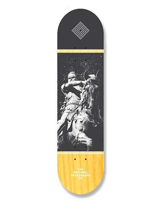 The National Skateboard Co. The Black Prince Team Deck - 8.5""