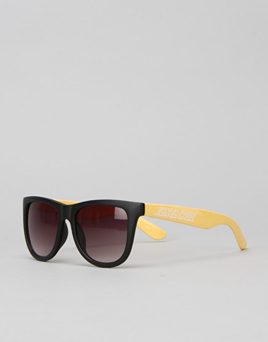 Santa Cruz Capitola Sunglasses - Custard/Black