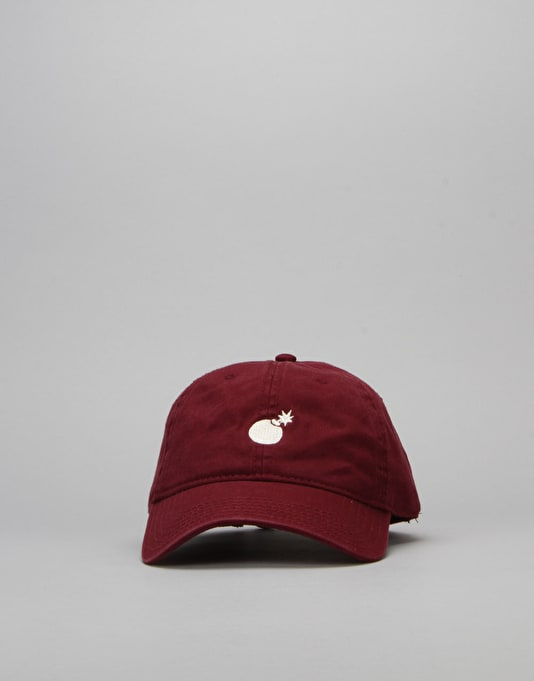 The Hundreds Solid Strapback Cap - Maroon